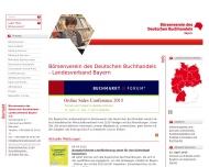 B?rsenverein des Deutschen Buchhandels - Landesverband Bayern - B?rsenverein des Deutschen Buchhande...