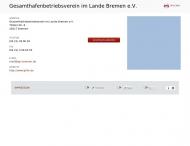 Bild Gesamthafenbetriebsverein im Lande Bremen eingetragener Verein