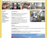 Website Berufsverband der Augenärzte Deutschlands