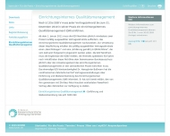 Website Kassenzahnärztliche Vereinigung Nordrhein Zahnärztlicher Notdienst