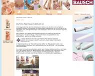 Website Peter Bausch