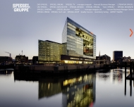 Bild Webseite Beteiligungsgesellschaft für SPIEGEL-Mitarbeiter m.b.H. Hamburg