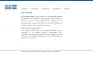 Bild Webseite Neumann Werbung M.A. Neumann Hamburg
