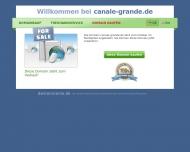Bild Webseite Canale Grande München