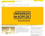 Bild Webseite Scholz & Friends NeuMarkt Hamburg
