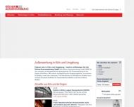 Bild Webseite Kölner Aussenwerbung Köln