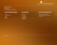 Bild Webseite Interactive Marketing Group Hamburg