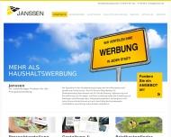 Bild Webseite Werbeagentur Janssen Köln
