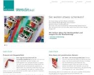 Bild Webseite Scheibeck Sabine Werbeberatung München