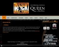 Bild Webseite Queen Werbeagentur München