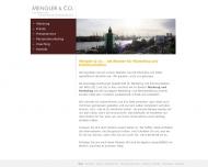 Bild Webseite Mengler Hamburg