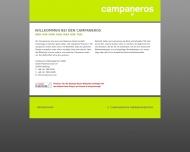 Bild Webseite Campaneros Werbeagentur Hamburg