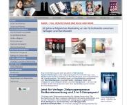 Bild Webseite BUCHWERBUNG DER NEUN München