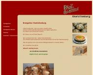 Bild Webseite Brotgarten Gesellschaft Berlin