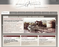 Website Weingut G. A. Heinrich