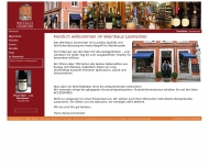 Website Weinhaus Lesmeister, Ihr Spezialist für Wein, Sekt und Spirituosen ...