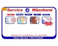 Bild Webseite Service Wäscherei Inh. Nagpal & Singh München