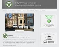 Bild MDW Mitteldeutscher  Wachschutz GmbH & Co. KG