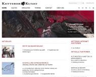 Ketterer Kunst, Kunstauktionen, Buchauktionen M?nchen, Hamburg Berlin