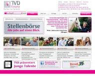 Bild Webseite T.V.D. Dr. Tindler Hannover
