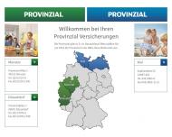 Bild Webseite Provinzial Versicherungen Lübeck
