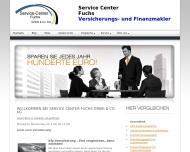 Website Service-Center Fuchs