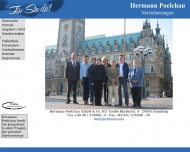 Bild Webseite Hermann Poelchau Hamburg