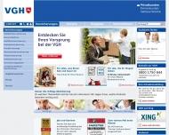 Bild Webseite Poschke Andreas VGH-Büro Versicherung Hannover