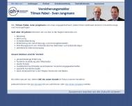 Bild Webseite TIP Holding Karlsruhe