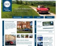 Website OCC Assekuranzkontor