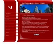 Bild Webseite Jäger Roland K. Versicherungsbüro Frankfurt