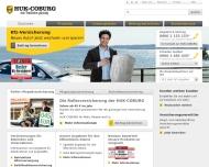 Website Huk-Coburg