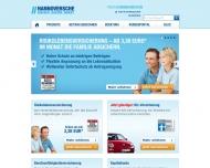 Bild Webseite Hannoversche Lebensversicherung a.G. Hannover