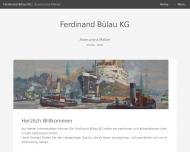 Bild Webseite Ferdinand Bülau Hamburg