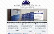 Bild Webseite Bienstock, Kunz & Hohmann Frankfurt