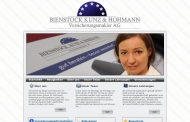Website Bienstock, Kunz & Hohmann
