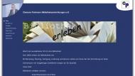 Bild Webseite Clemens Portmann Büchereieinrichtung Ascheberg