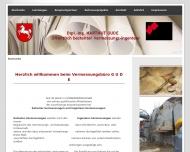 Bild Webseite Gude Hartmut Dipl.-Ing. Öffentl. best. Vermessungsingenieur Göttingen