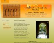 Bild Webseite Verlag RoseNoire Gisela Fischer München