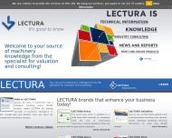 Bild Webseite LECTURA Nürnberg