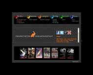 Bild Webseite Frankfurter Verlagsanstalt Frankfurt