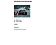 Bild Webseite Anderland Verlags München