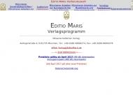 Bild Webseite Editio Maris München