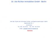 Bild Dr. Ute Richter Immobilien GmbH