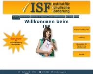 Bild ISF Institut für schulische Förderung