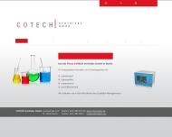 Website Cotech Vertriebs