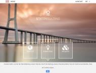 Bild Webseite STI Consulting München