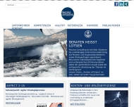 Bild Webseite Process Management Consulting München