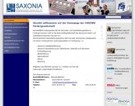 Bild Webseite SAXONIA Fördergesellschaft für das Hotel- und Gaststättengewerbe im Freistaat Sa Dresden