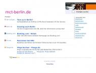 Bild Webseite MCT Marketing Consulting & Training Berlin